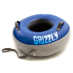 GRIZZLY. Tube a neige commerciale avec fond.